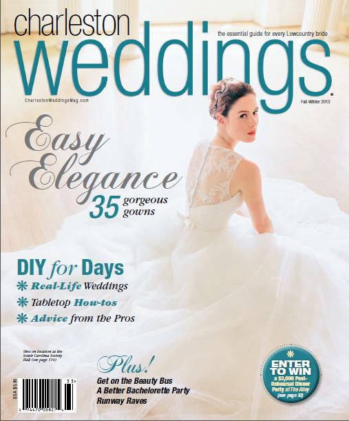 Engaging Events Published in Charleston Weddings Magazine