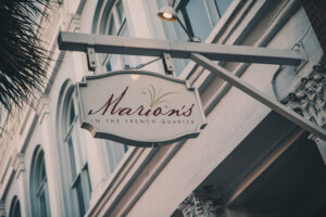 Marion's in the French Quarter