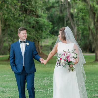 Courtney and Blake – Magnolia Plantation